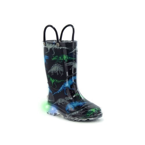 Junior Boys Dinosaur Friends Rubber Boots Thumbnail