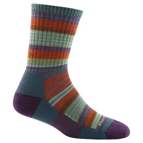 Girls Sierra Stripe Jr. Crew Socks Thumbnail