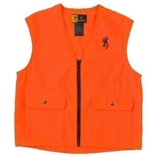 Safety Vest Hunter Orange Thumbnail