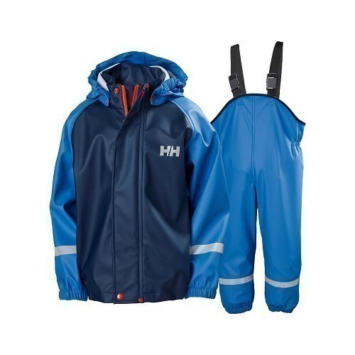 Kids Bergen PU Rainsuit Thumbnail