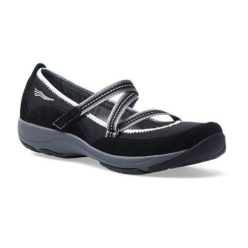 Hazel Strappy Slip-On Black Thumbnail