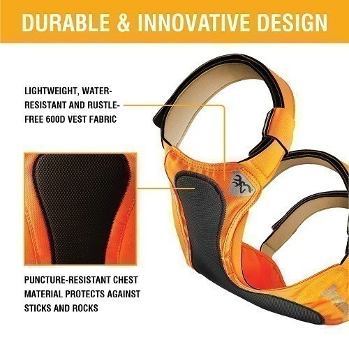 Chest Protection Vest Orange Thumbnail