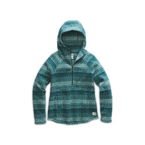 W Printed Crescent Hooded P/O Thumbnail