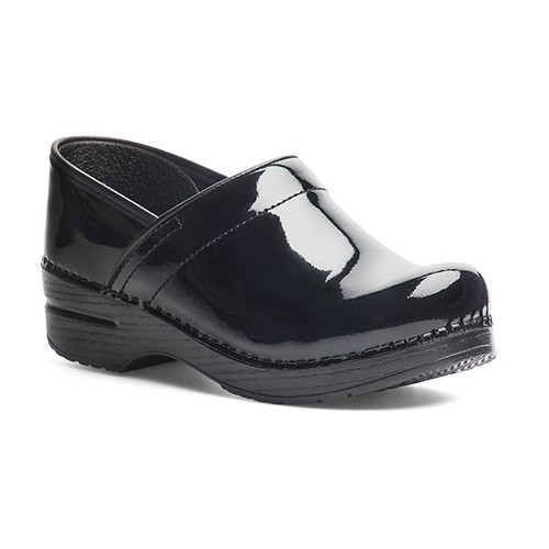 Women's Wide Pro Black Patent Shoe Thumbnail
