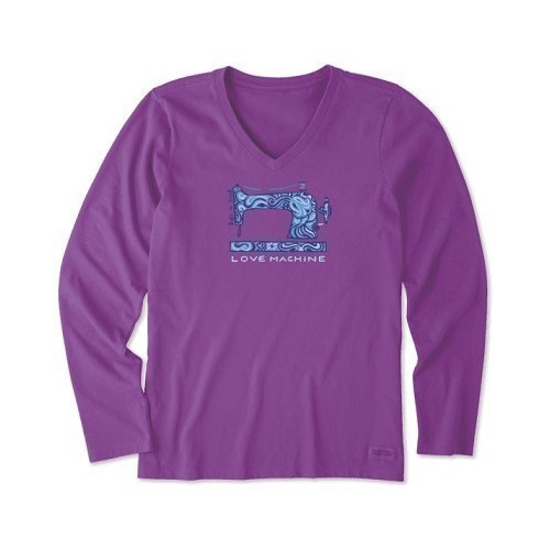 Women's Love Machine Long-Sleeve Crusher Vee Thumbnail
