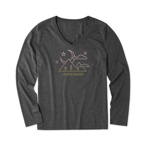 Women's Moon Scenic LS Cool Vee Thumbnail