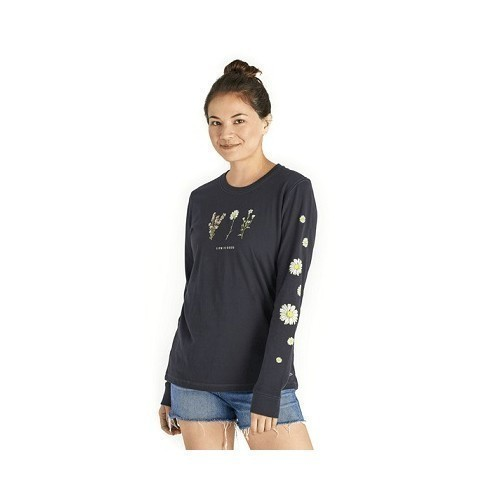 Women's Long Sleeve Wildflower Crusher Tee Thumbnail
