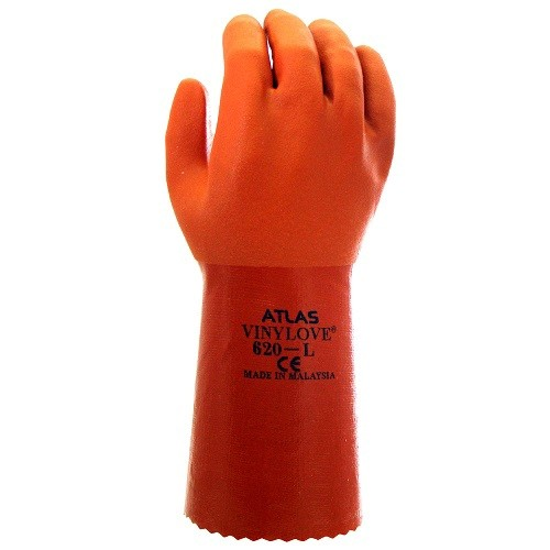 Orange Waterproof Work Glove Thumbnail
