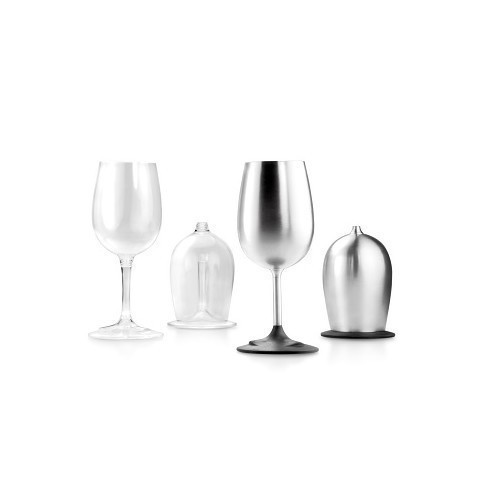 Glacier Stainless Nesting Wine Glass Thumbnail