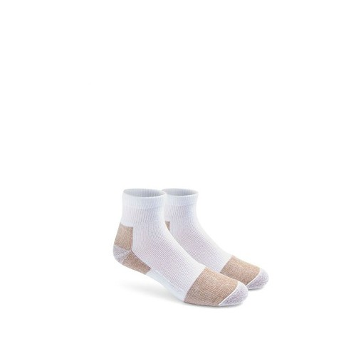 Steel-toe Light-Weight Quarter Crew Socks Thumbnail