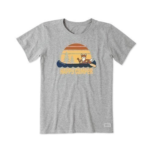 Women's Crush Tee - Happy Camper Fox Thumbnail