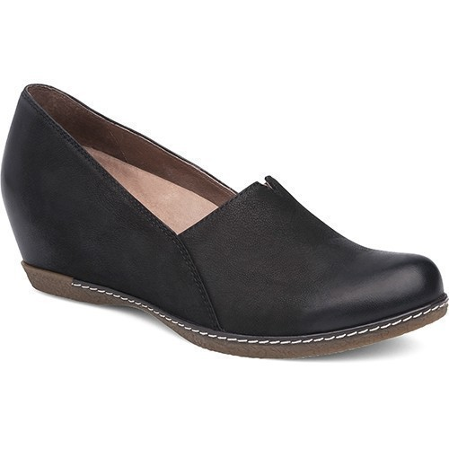 Liliana Wedge Loafer Black Thumbnail