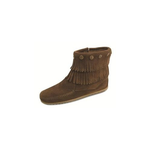 Women's Double Fringe Side Zip Boot Thumbnail
