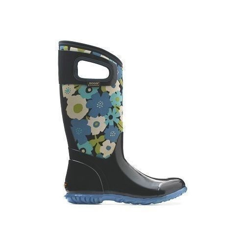 Women's North Hampton Rubber Boots - Flowers Thumbnail