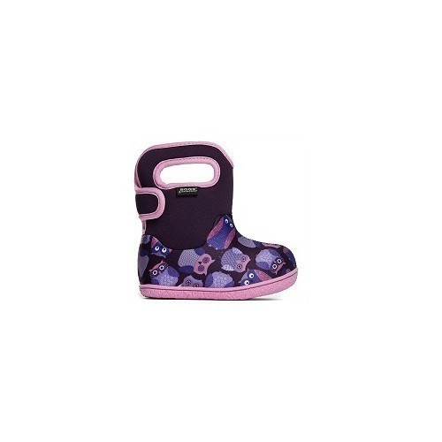 Infant Baby Bogs Bootie Owls Thumbnail