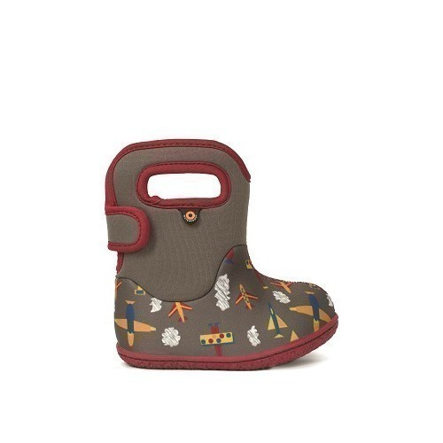 Infant Baby Bogs Bootie Planes Thumbnail