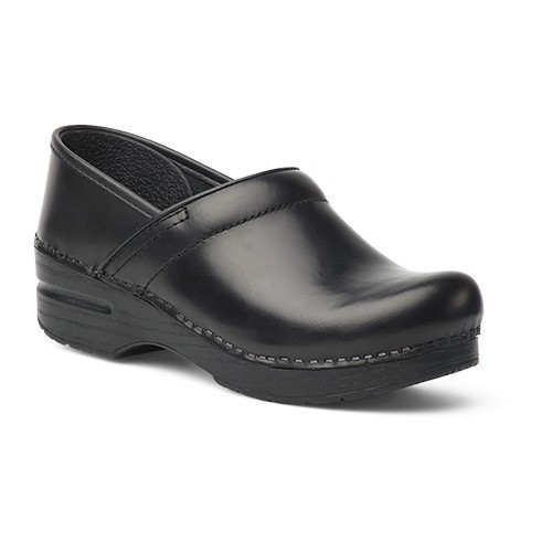 Women's Wide Professional Black Cabrio Clog Thumbnail