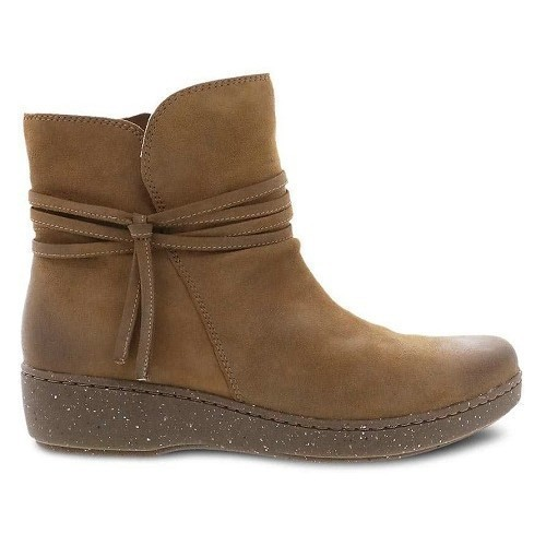 Evelyn Zip Mid Ltr Wrap Biscot Boot Thumbnail
