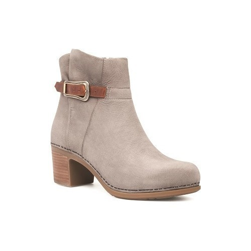 Hartley Mid Boot Heel Grey Thumbnail