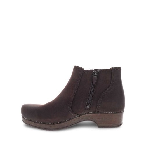Women's Barbara Mid Boot Zip Chocolate Thumbnail