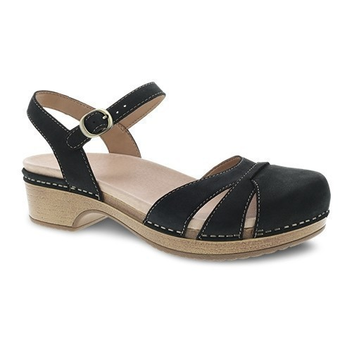 Betsey Closed Sandal - Black Thumbnail