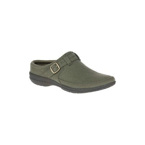 Women's Encore Kassie Slide Olive Wool Thumbnail