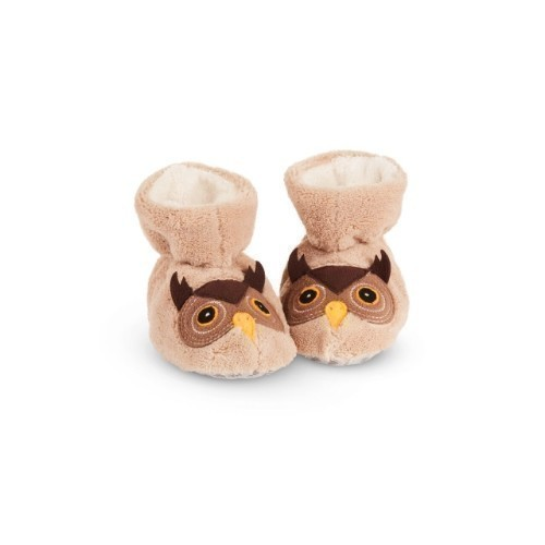 Baby Easy Critter Bootie Owl Thumbnail
