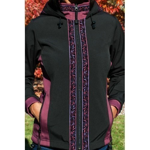 Women's Arctic Jacket Black/Plum/Velvet Thumbnail