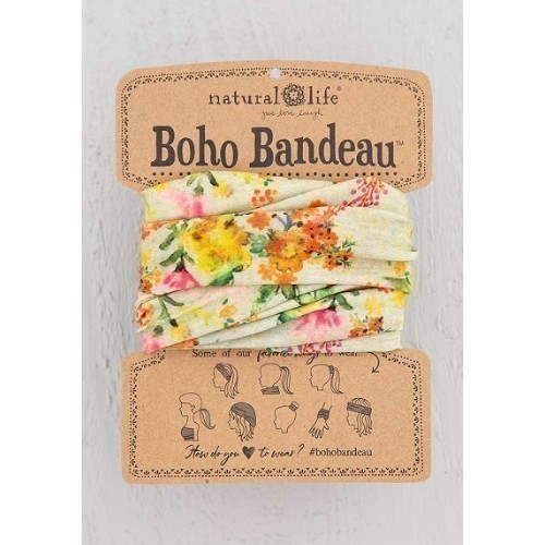 Boho Bandeau Sage Watercolor Thumbnail