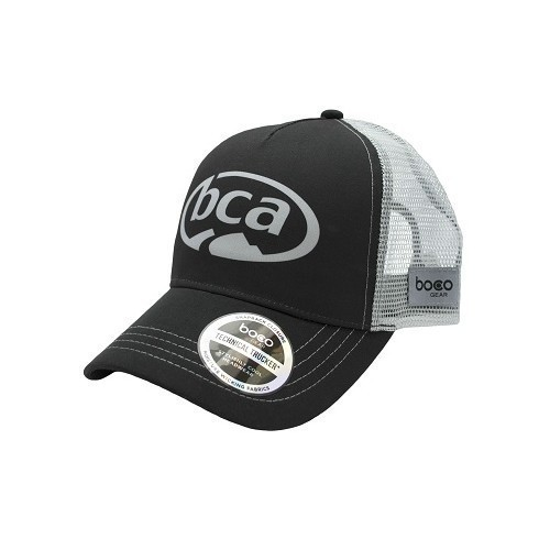 BCA Truckers Hat Black-Silver Thumbnail