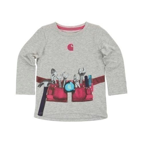 Infant Girls Tool Belt Tee Thumbnail