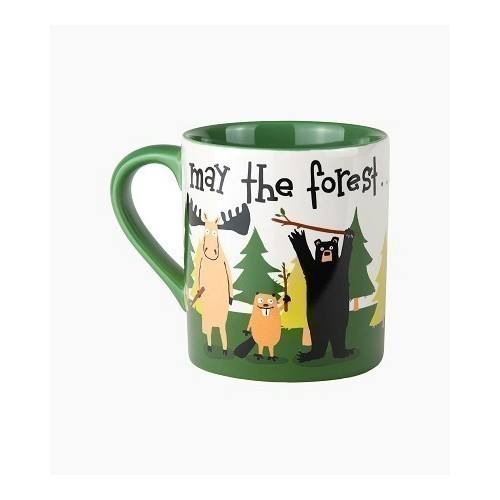 Ceramic Mug - May the Forest Be With You Thumbnail