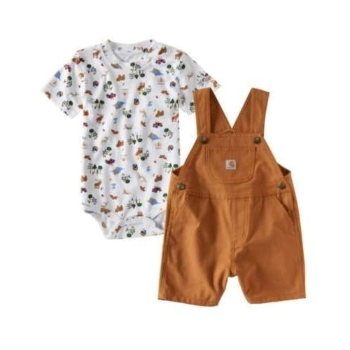 CIB 2 Pc Canvas Shortall Set Thumbnail