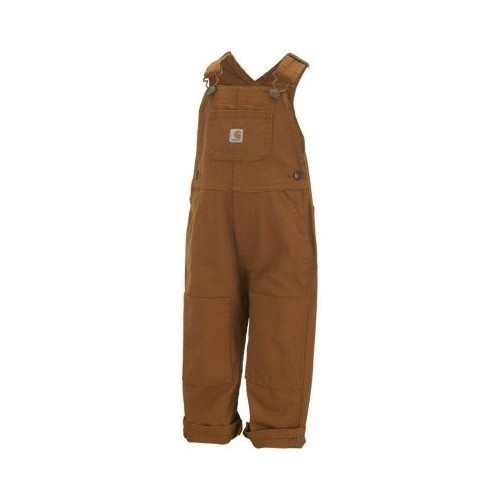 Toddler Canvas Bib Overall Thumbnail