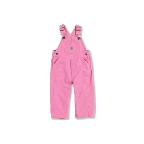 Inf Canvas Bib Overall Rose Thumbnail