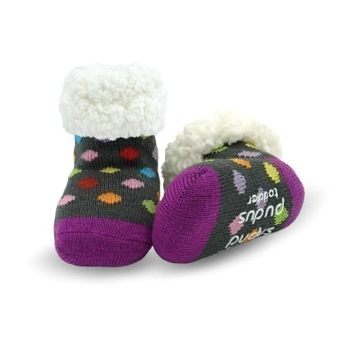 Polkadot Multi - Toddler Socks Thumbnail