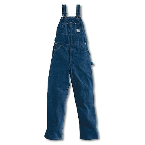 Washed Denim Bib Overall/Unlined Thumbnail