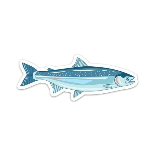 Wild Salmon Decal Thumbnail