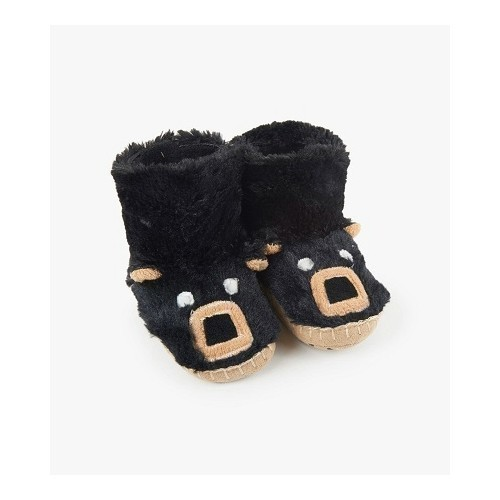 Kid's Slouch Slipper-Black Bear Thumbnail