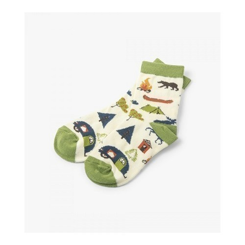 Cute Cottage Kids Crew Socks  Thumbnail