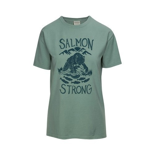 Salmon Strong Tee Thumbnail