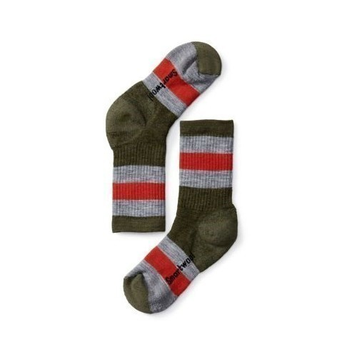 Kids Striped Med Hike Crew Sock Thumbnail