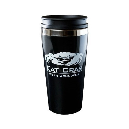 Grundens Eat Crab Travel Mug Thumbnail