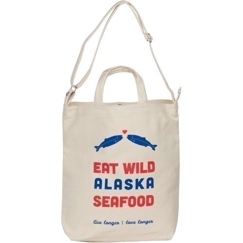 Eat Wild Canvas Bag Thumbnail