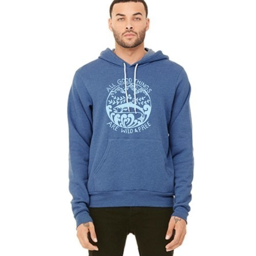 Wild and Free Pull Over Hoodie Thumbnail
