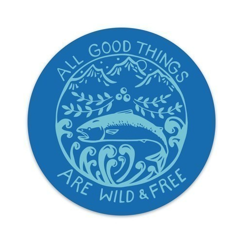 Wild and Free Decal Thumbnail