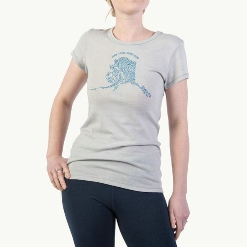 Women's Salmon Dreams Tee Thumbnail